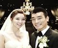 축구선수 조원희-권나연 커플, 행복한 결혼식 올려