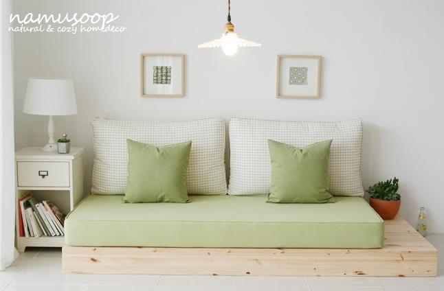 [인테리어] 고컬리티, 세련된 디자인의 목화나무숲 좌식소파 ...