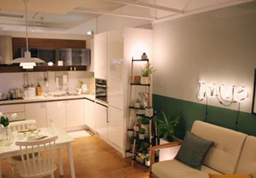 [신혼가구] 한샘인테리어 :: 20평 신혼집 모델하우스 - 아이웨딩 ...